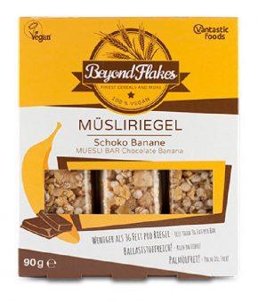 Barra Muesli com Banana e Chocolate
