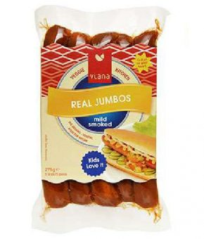 Salsicha Viana Jumbo Fumada