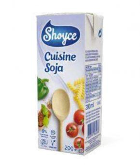 Creme Culinária Soja 200ml Shoyce