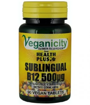 Vitamina B12 Sublingual 500ug