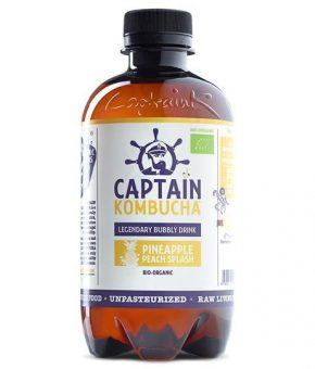 Captain Kombucha Ananás Bio 400ml