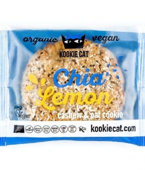 KookieCat Pepitas Chia e Limão 50g