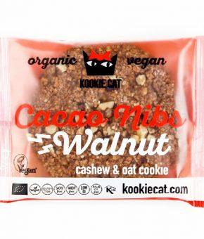 KookieCat Pepitas de Cacau e Noz 50g