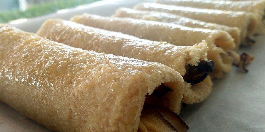 Rolinhos de Pão com Cogumelos Shiitake