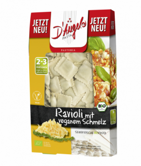 Ravioli com recheio sabor a ''queijo'' Vegan - Bio