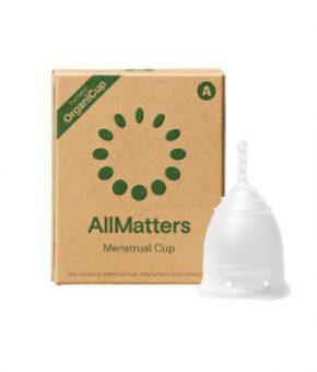 Copo Menstrual AllMatters (OrganiCup) - Tamanho A