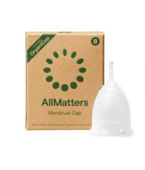 Copo Menstrual AllMatters (OrganiCup) - Tamanho B