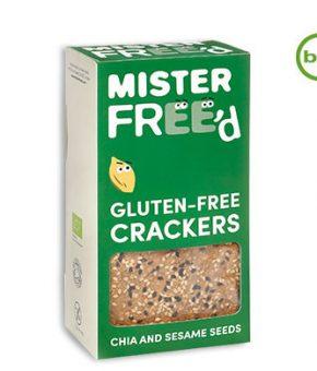 Crackers Mister Free'd - Chia e Sésamo