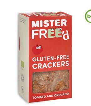 Crackers Mister Free'd - Tomate e Oregãos