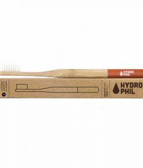Escova de Dentes em Bambu - Vermelha