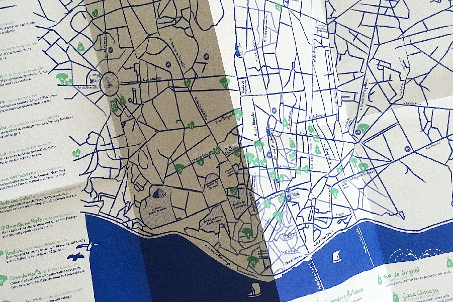 Veg and Go Porto – Mapa do Porto Vegetariano