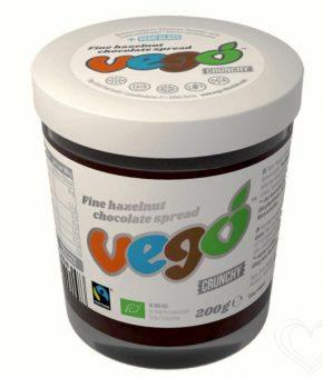 Creme Bio de Chocolate e Avelã Vego