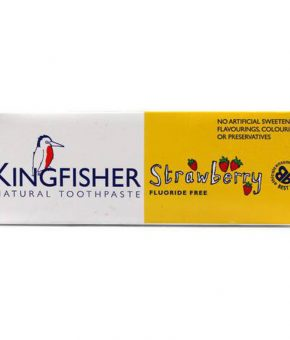 Pasta dentifrica Kingfisher Morango 100ml