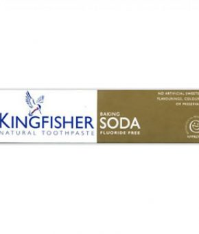 Pasta dentifrica Kingfisher Bicarbonato 100ml