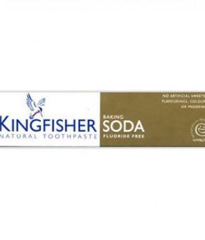 Pasta dentífrica Bicarbonato - Kingfisher - Vegan