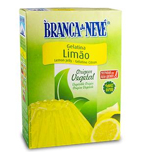 Gelatina Vegetal de Limão