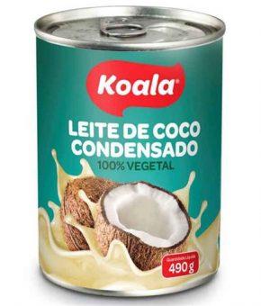 Leite Condensado de Côco Koala 490g