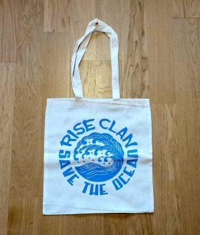 SAVE THE OCEAN TOTE BAG