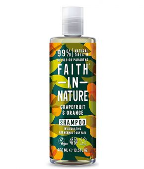 Champô Faith in Nature Toranja Laranja 400ml