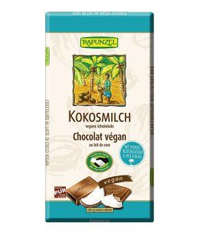 Chocolate de leite de côco