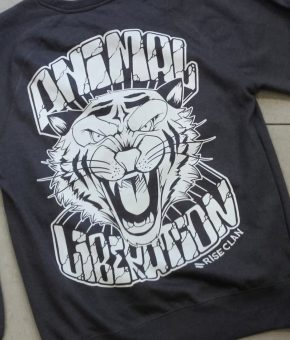 TIGER ANIMAL LIBERATION SWEATSHIRT