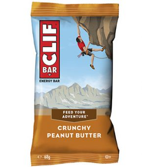 CLIF Bar Manteiga de Amendoim Crocante