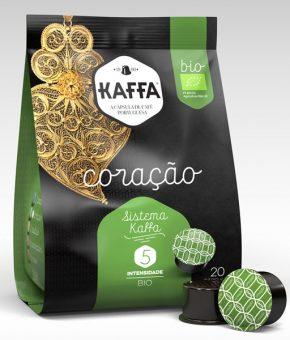 Cápsulas de Café máquinas Kaffa – Coração BIO