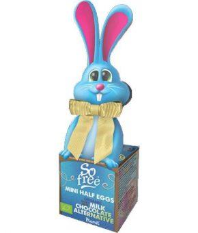 Coelhinho c/ ovos de chocolate bio de comércio justo 55 g