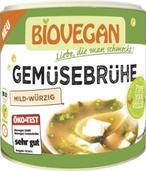 Caldo de legumes biológico - sem glúten