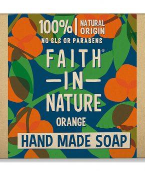 Sabonete de Laranja - Faith In Nature (embalagem cartão)