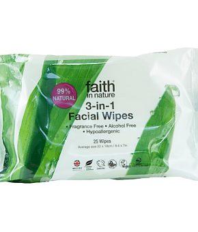Toalhitas de limpeza facial