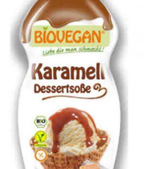 Topping de caramelo biológico - sem glúten