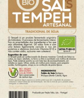 Sal's Tempeh de soja tradicional BIO/Sem Glúten