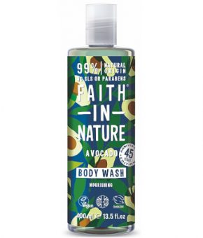 Gel de Banho Abacate - Faith in Nature