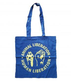 Tote Bag - Libertação Animal / Libertação Humana