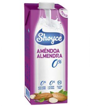 Bebida Amêndoas - 0% açúcares - Shoyce