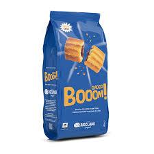 Biscoitos recheados com creme de cacau - Choco Booom!