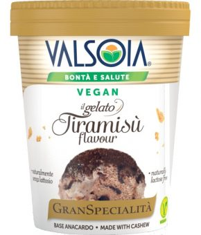 Sobremesa Gelada de Tiramisu - Vegan