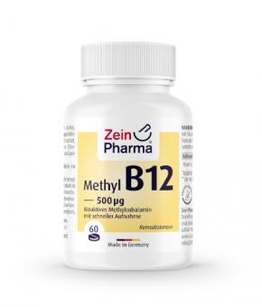 Vitamina B12 500µg (60 pastilhas)