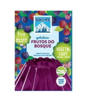 Gelatina Vegetal Light Frutos Bosque - Vegan