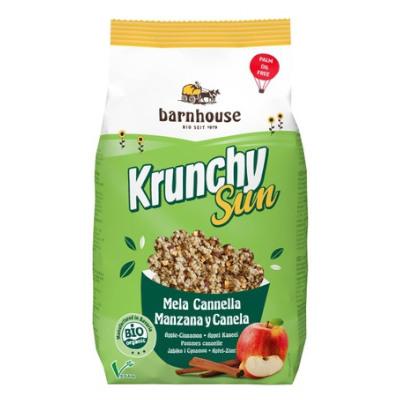 granola-vegan-pequeno-almoço-maça-canela
